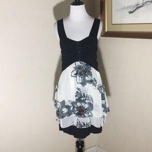 American Rag Sleeveless Tiered Dress. Size L